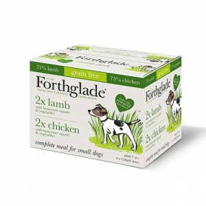 Forthglade Complete Small Dog Multipack Chicken & Lamb 16 x 150gm