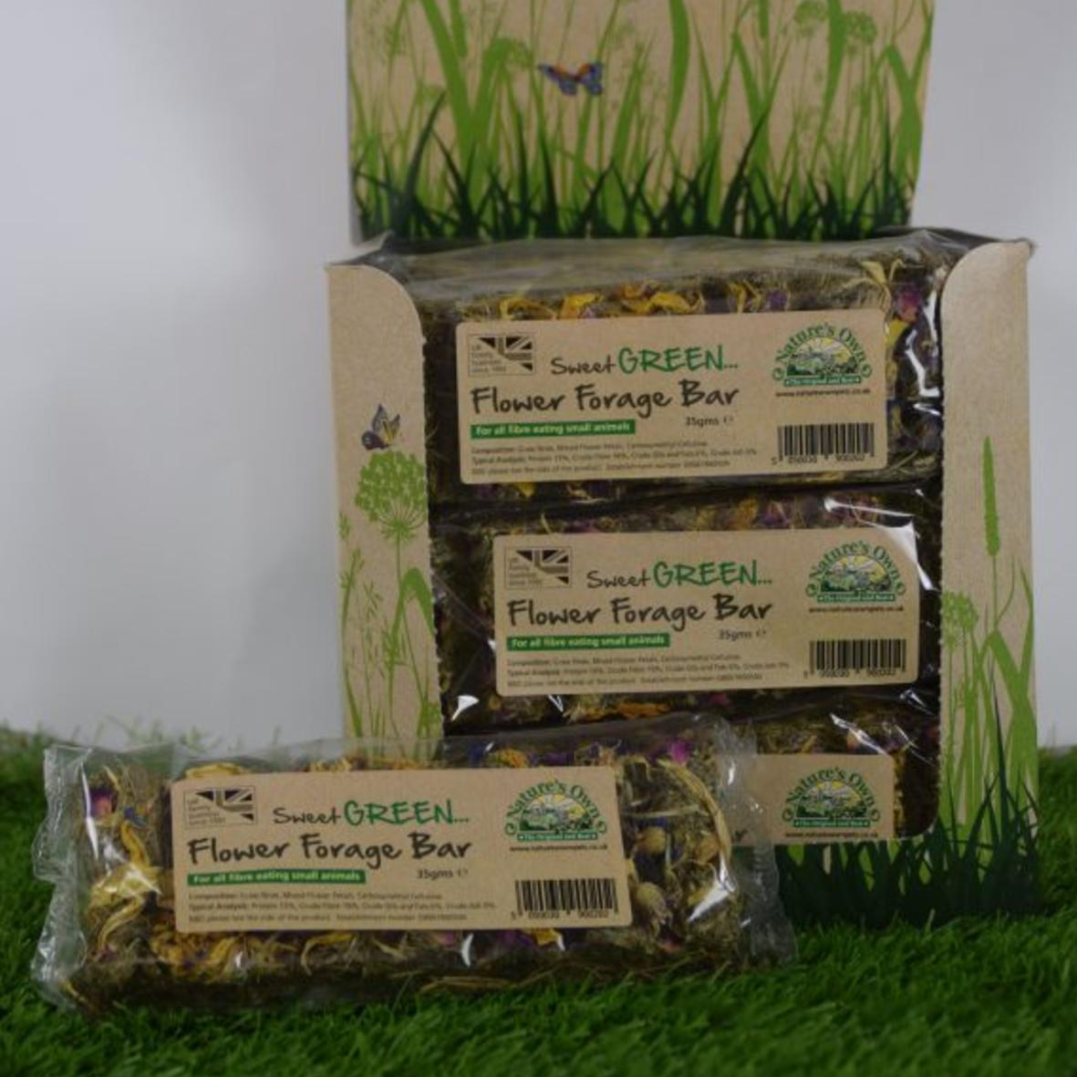 Natures Own Sweet Green Flower Forage Bar 35g