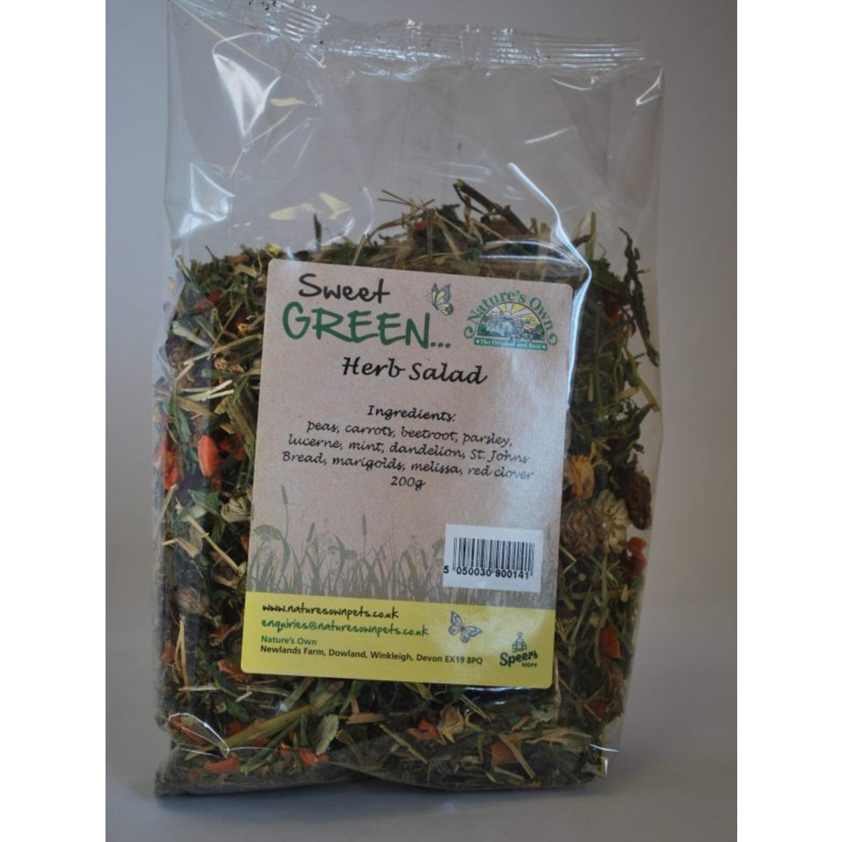 Natures Own Sweet Green Herb Salad 100gm