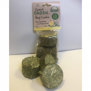 Natures Own Sweet Green Hay Cookies with Dandelion and Peppermint 200gm