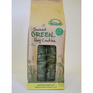 Natures Own Sweet Green Hay Cookies 1kg