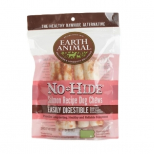 Earth Animal No-Hide Chews Salmon Small 2pcs