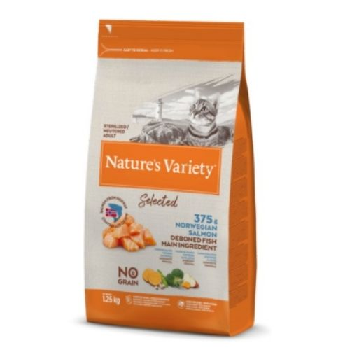 Natures Variety Selected Adult Norwegian Salmon 1.25kg