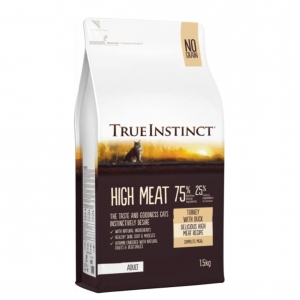 True Instinct Adult Cat High Meat Turkey with Duck