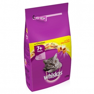 Whiskas Senior 7+ with Chicken 1.9kg
