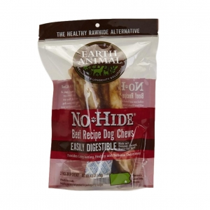Earth Animal No-Hide Chews Beef Medium 2pcs