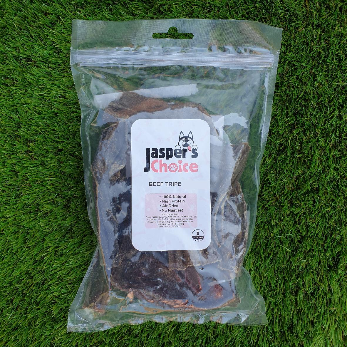 Jaspers Choice Beef Tripe 200gm