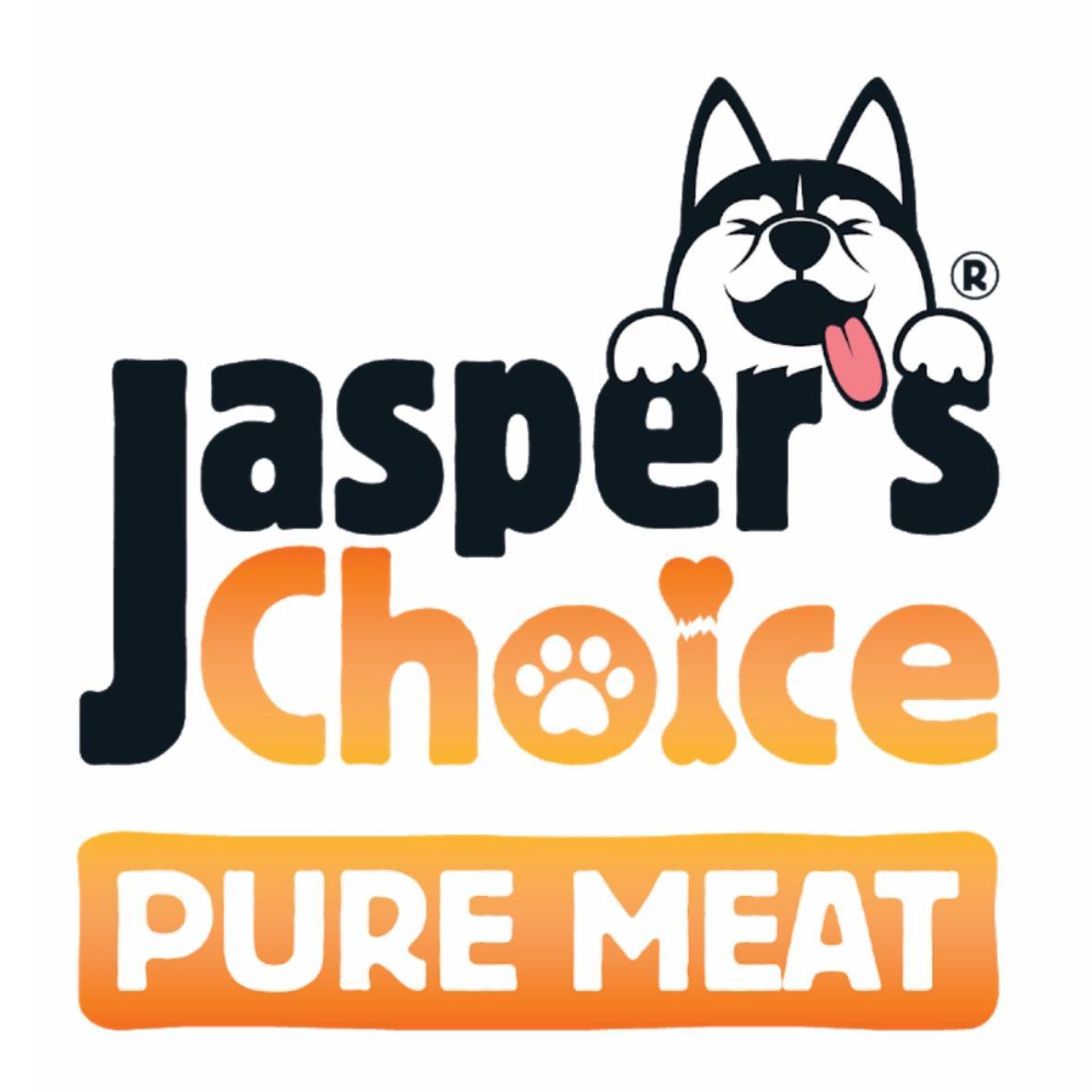 Jaspers Choice 100% Rabbit Strips 100g
