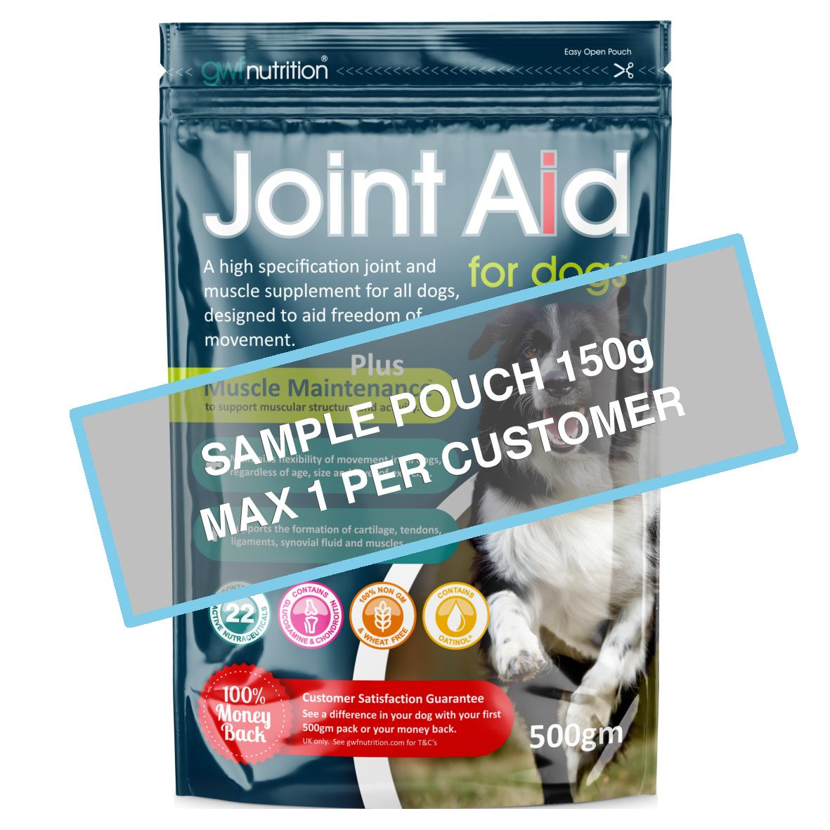[SAMPLE BAG] GWF Joint Aid Plus Muscle Maintenance 150gm