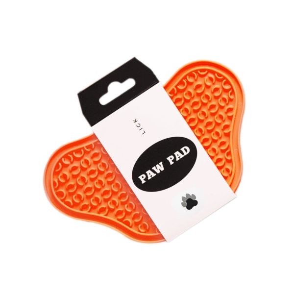 PAW Slow Lick Pad Orange