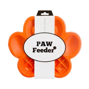 PAW Slow Feeder Orange