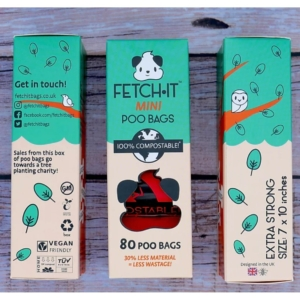 FETCHIT Mini Poo Bags 80pcs