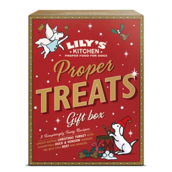 Lilys Kitchen Proper Treats Gift Box 150gm