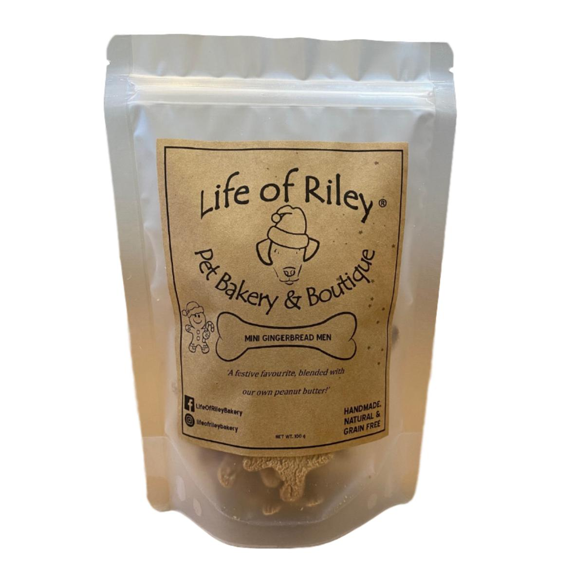 CLEARANCE Life of Riley Bakery Mini Gingerbread Men 100gm