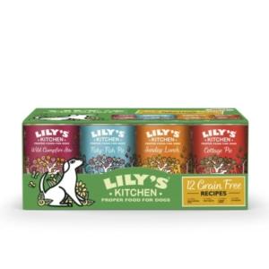 Lilys Kitchen 12 Grain Free Recipes 12 x 400gm