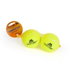 SportsPet Tennis Balls Large 80mm 2pcs