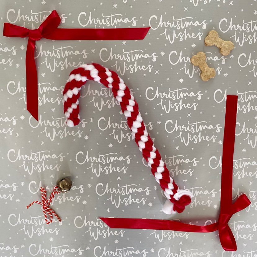 CLEARANCE Angels Accessories Candy Cane Puzzleplait 25cm