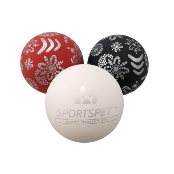 SportsPet Christmas High Bounce Balls