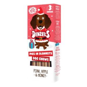 Denzels Pigs in Blankets Dog Chews 3pk