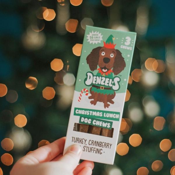 Denzels Christmas Lunch Dog Chews