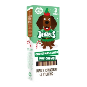 Denzels Christmas Lunch Dog Chews