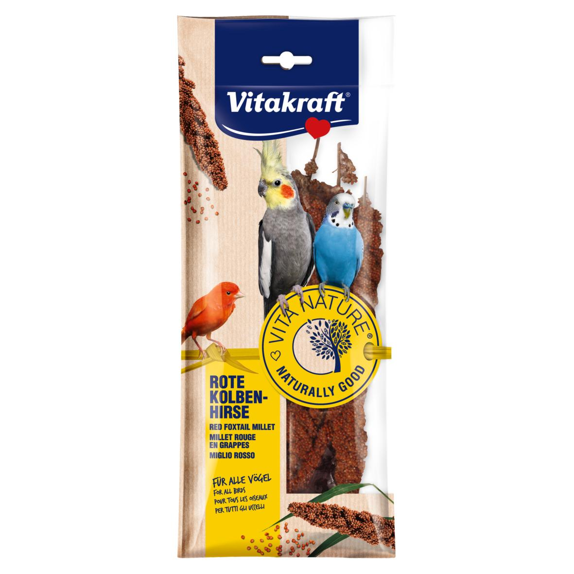 CLEARANCE Vitakraft Red Foxtail Millet 80gm