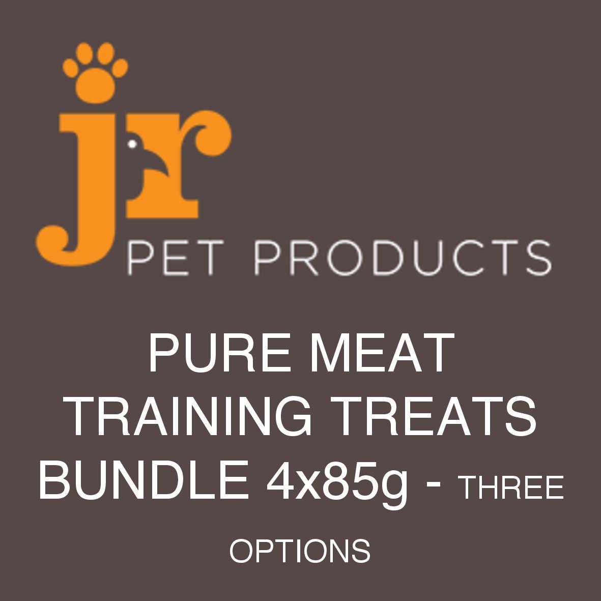 JR Pure Training Treats Bundle 4 x 85gm (Three Combinations)