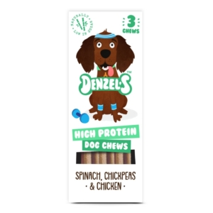 Denzels High Protein Dog Chews 3pk
