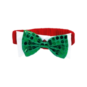 Holly & Robin Sequin Bow Tie