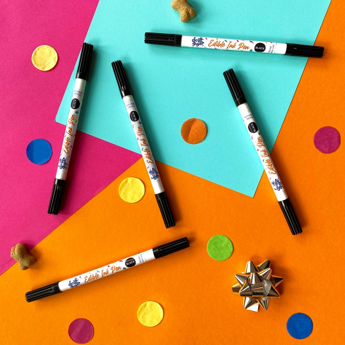 CLEARANCE Scoff Paper Edible Ink Pen (for Edible Cards)
