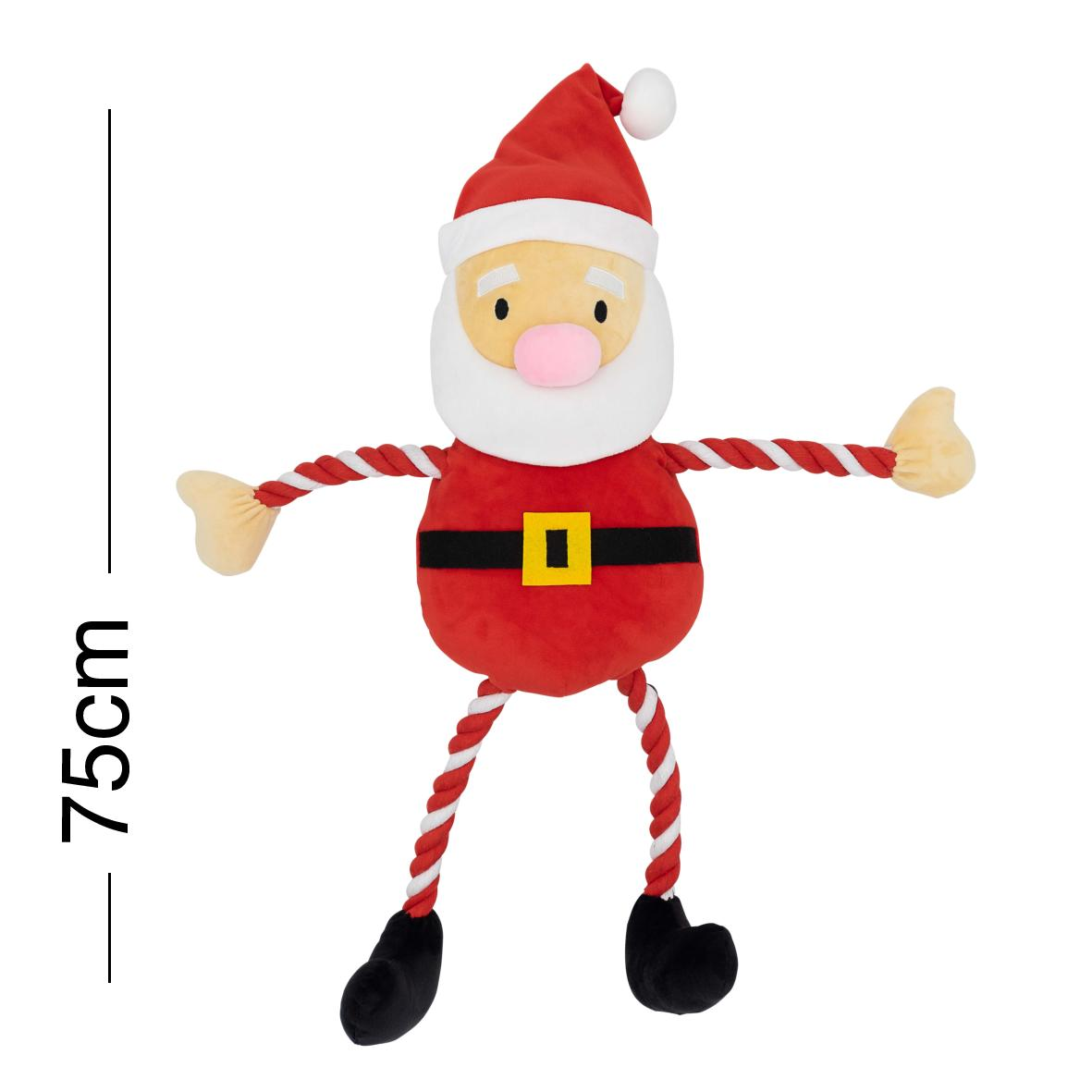 CLEARANCE Good Boy Hug Tug Santa Large 75cm