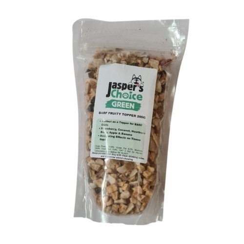 Jaspers Choice Fruity Meal Topper 200g