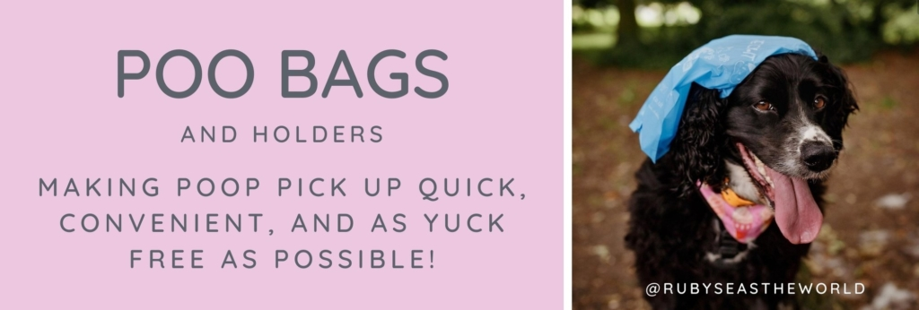 Website Banner Poo Bags and Holders