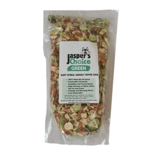 Jaspers Choice Herbal Garden Meal Topper 200g