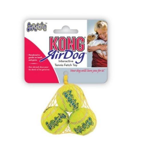 KONG SqueakAir Tennis Balls SMALL 2″ 3pcs