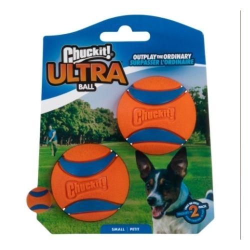 Chuckit Ultra Ball Small 2pk 4.8cm
