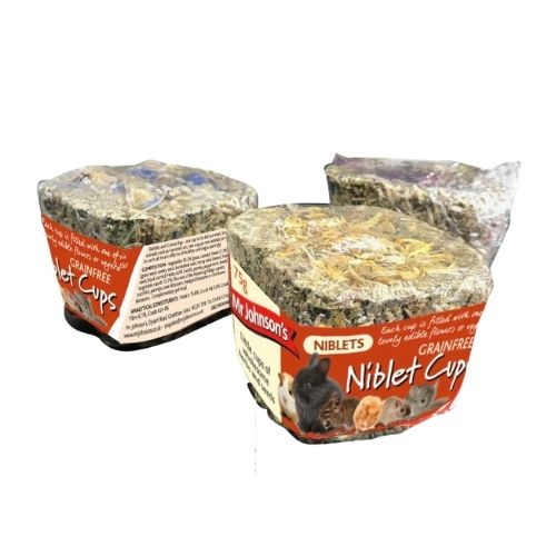 CLEARANCE Mr Johnsons Niblet Cup 75g (Short Dated)