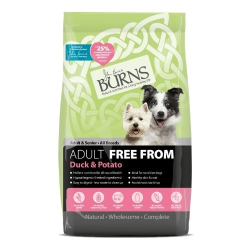 BURNS Adult FREE FROM Duck & Potato 12kg