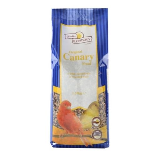 CLEARANCE Walter Harrisons Original Canary Food 1.25kg