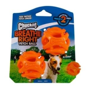 Chuckit! Breathe Right Ball Small 4.8cm 2-Pack