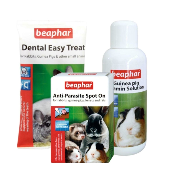 BEAPHAR Healthy Guinea Pig Bundle 3pc