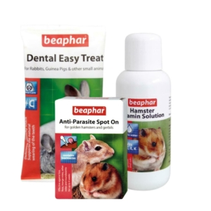 BEAPHAR Healthy Hamster Bundle 3pc