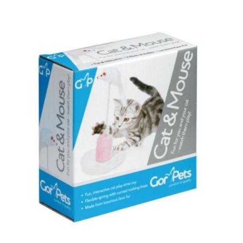 CLEARANCE Gor Pets Cat & Mouse Island Toy