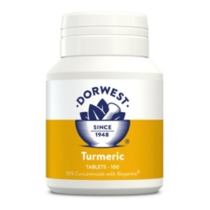 DORWEST Turmeric Tablets 100pcs