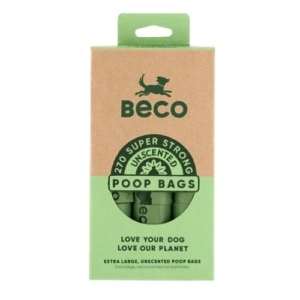 BECO Degradable Poop Bags 270pk