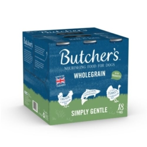 Butchers Wholegrain Simply Gentle Multipack Cans 18x390g