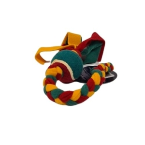 CLEARANCE Good Boy Yule Tide Tugger with Tennis Ball 35cm