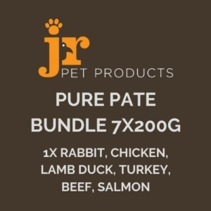 JR Pure Pate Bundle 7x200g