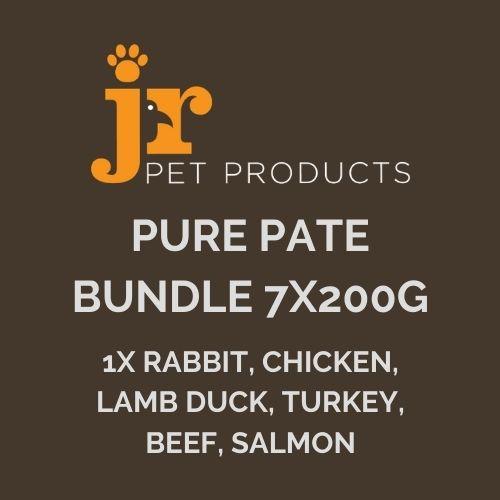JR Pure Pate Bundle 7 x 200g