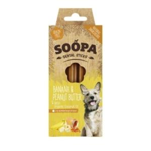 SOOPA Dental Sticks Banana & Peanut Butter 4pk